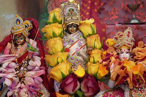 Narayana, Mahalakshmi and Bhudevi