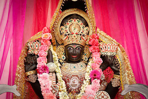 Sri Swami Vishwananda during Maha Lakshmi Yagna